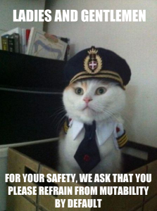 Captain Kitteh - Mutability